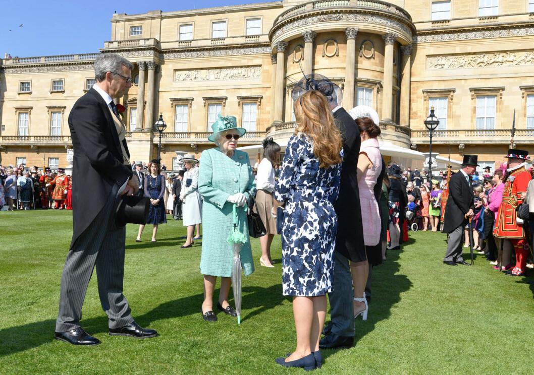 Drottning Elizabeths gardenparty