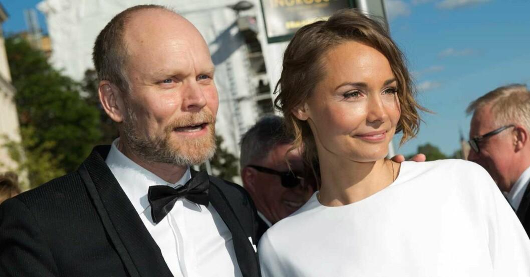 Kristian Luuk och Carina Berg