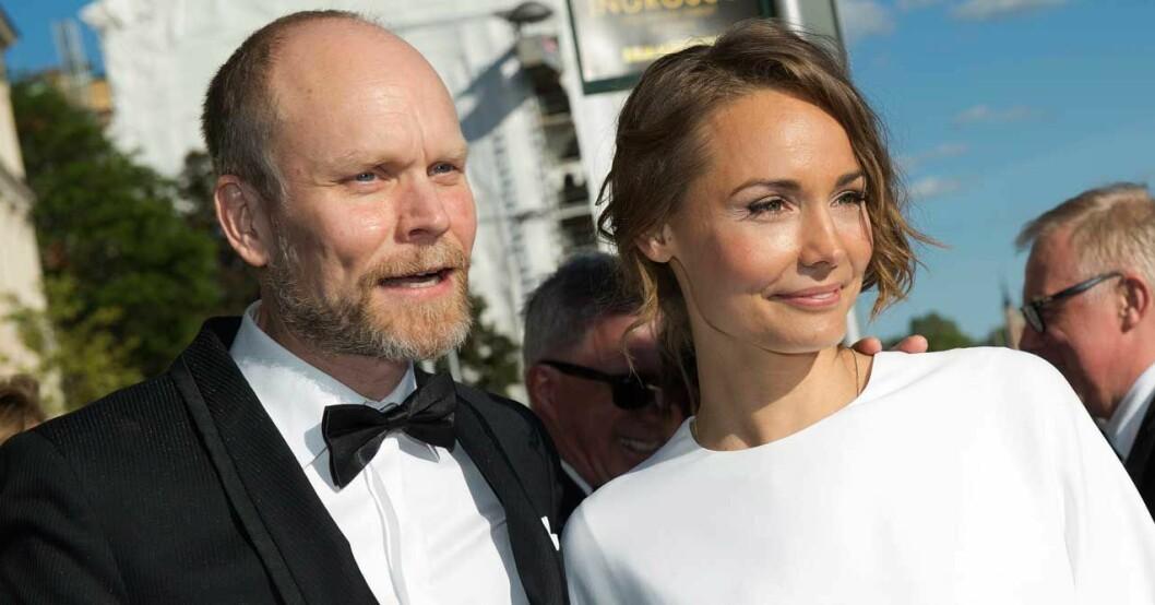Kristian och Carina skilde sig 2016.