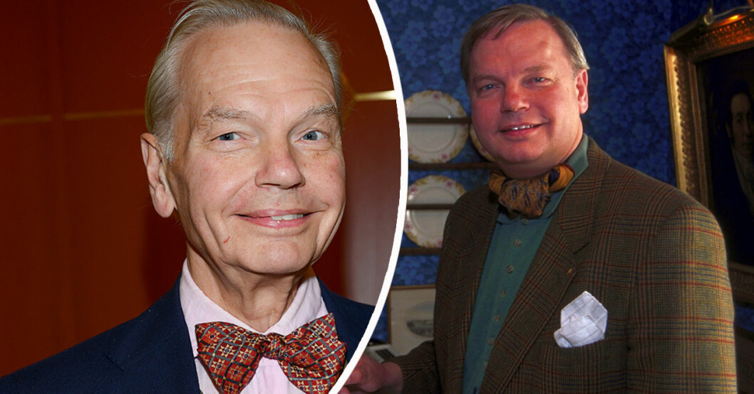 Carl Jan Granqvist har tappat mycket vikt