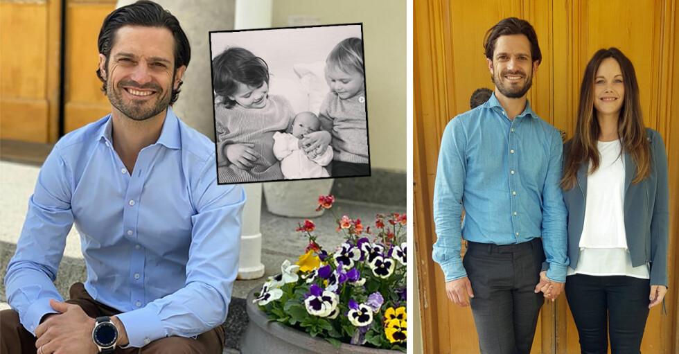 Prins Carl Philip Prinsessan Sofia barnen Julian Gabriel Alexander