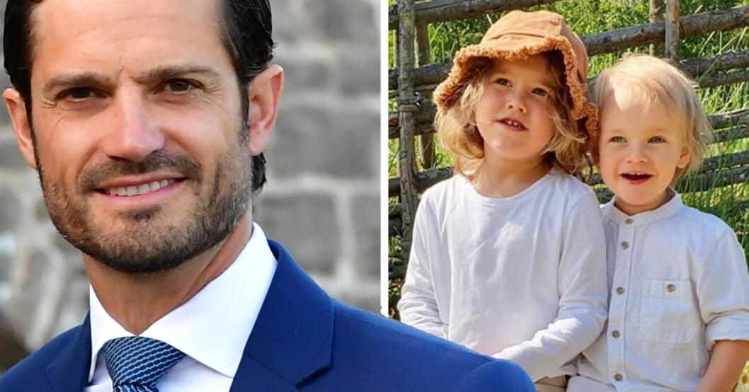 Prins Carl Philip, prins Alexander och prins Gabriel