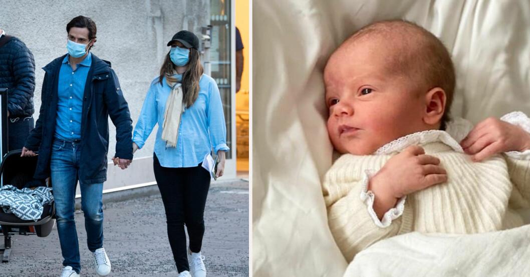 Prins Carl Philip, prinsessan Sofia och prins Julian