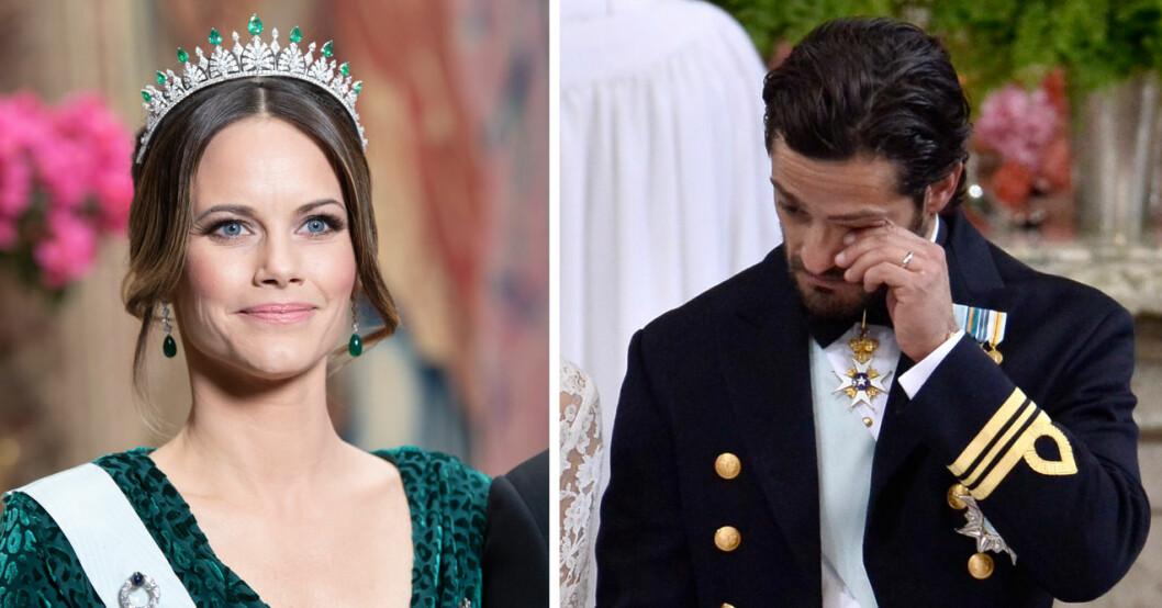 prins carl philip i tårar efter orden om sofia