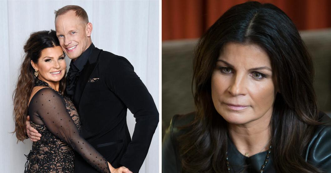 Carola Häggkvist och Tobias Karlsson