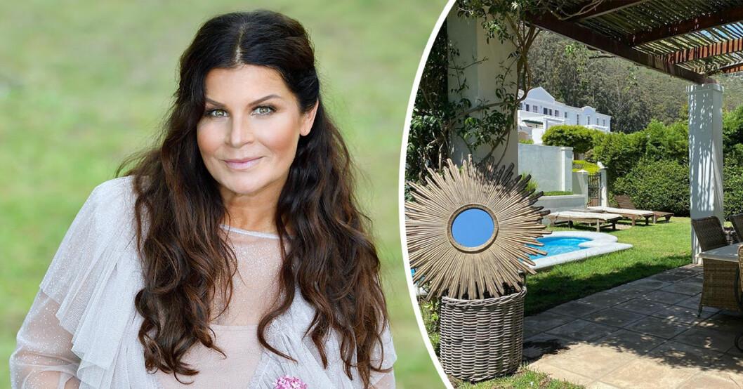 Carola Häggkvist hus i Sydafrika, som hon äger tillsammans med exet Jimmy Källkvist.