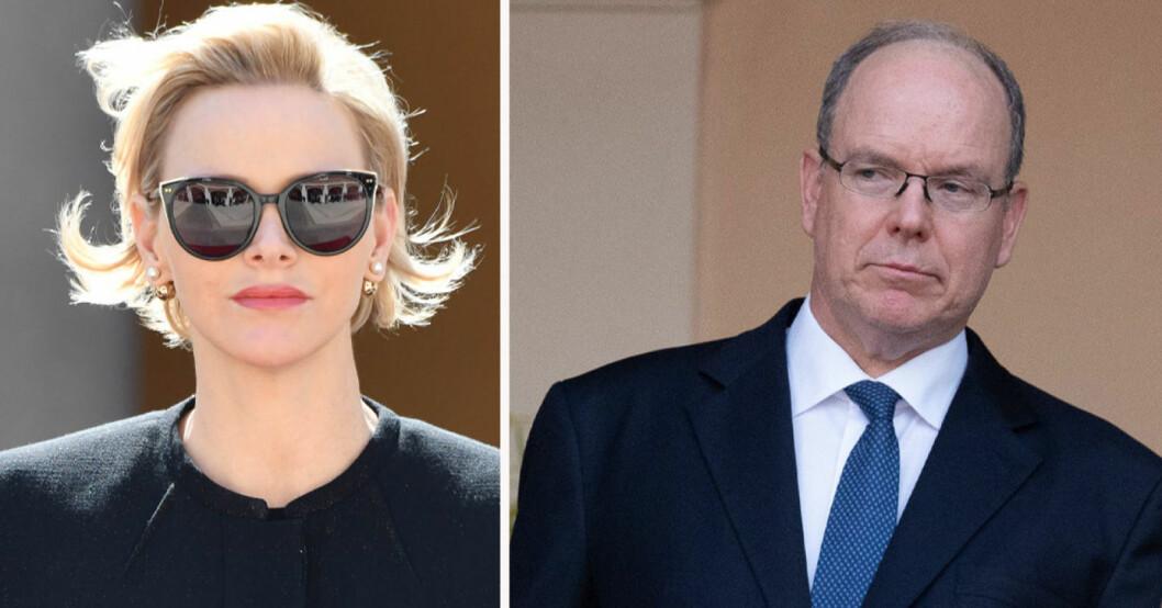 Charlene och Albert av Monaco