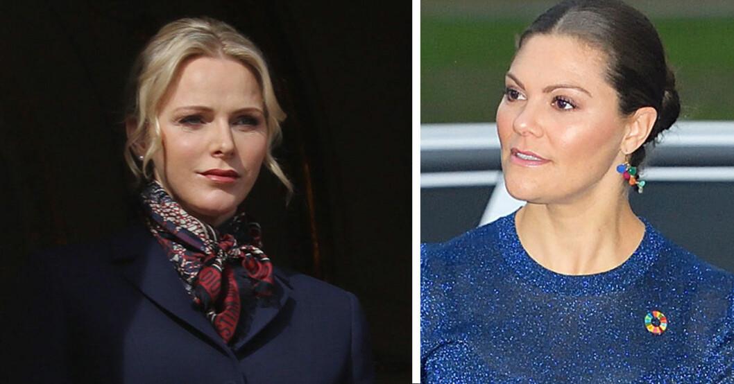 Charlene och Victoria får troligen inte träffas i mars.