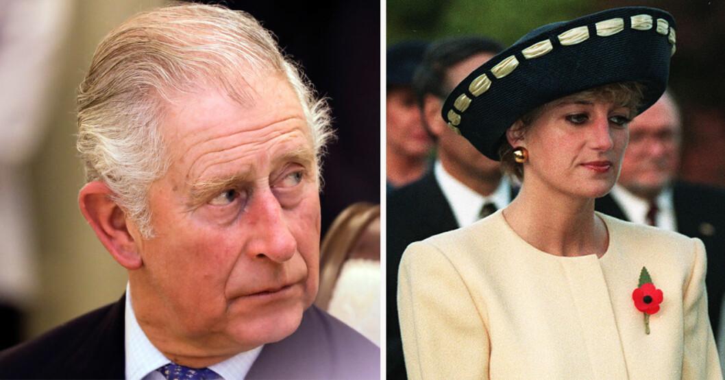 Prins Charles och prinsessan Diana