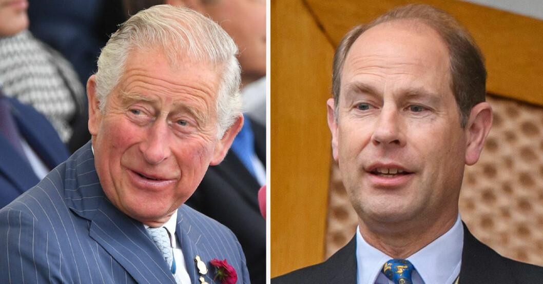 Prins Charles och prins Edward