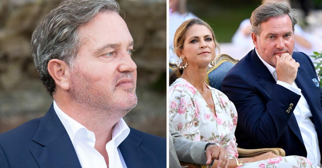 Chris O'Neill och prinsessan Madeleine