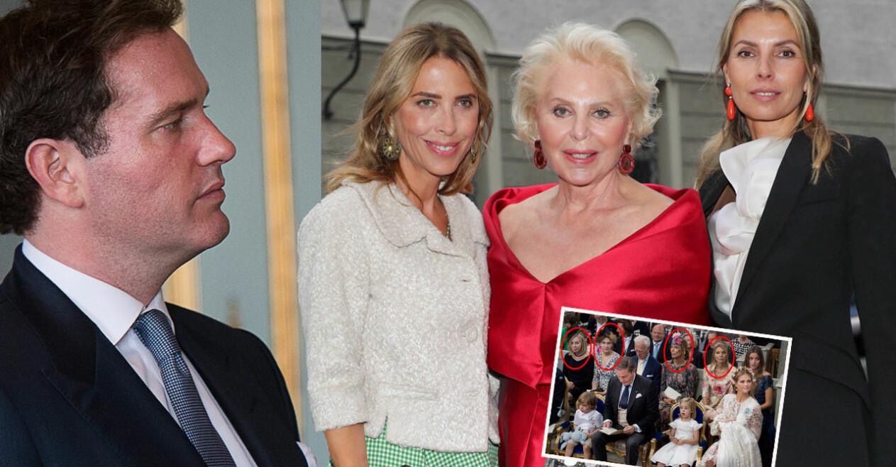 Chris O'Neill mamma Eva O'Neill systrar Natascha Abensperg und Traun Tatiana d'Abo