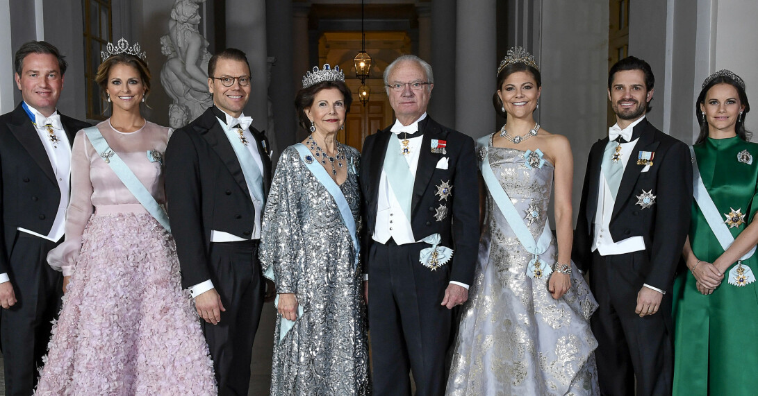 Chris O'Neill Prinsessan Madeleine Prins Daniel Drottning Silvia Kungen Kronprinsessan Victoria Prins Carl Philip Prinsessan Sofia Kungafamiljen