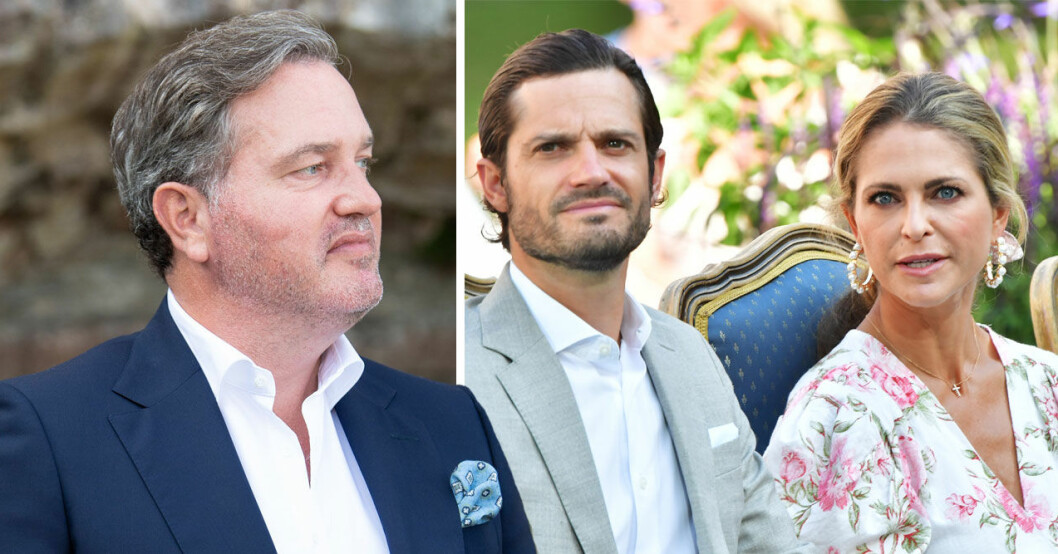 Chris O'Neills relation med prins Carl Philip