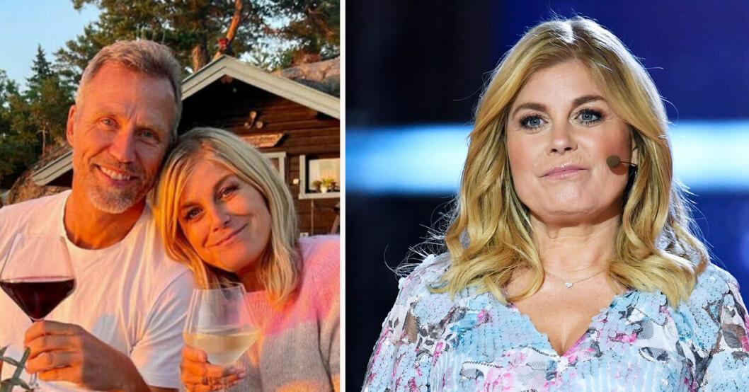 Christian Bauer berättar om kärlekslyckan med Pernilla Wahlgren