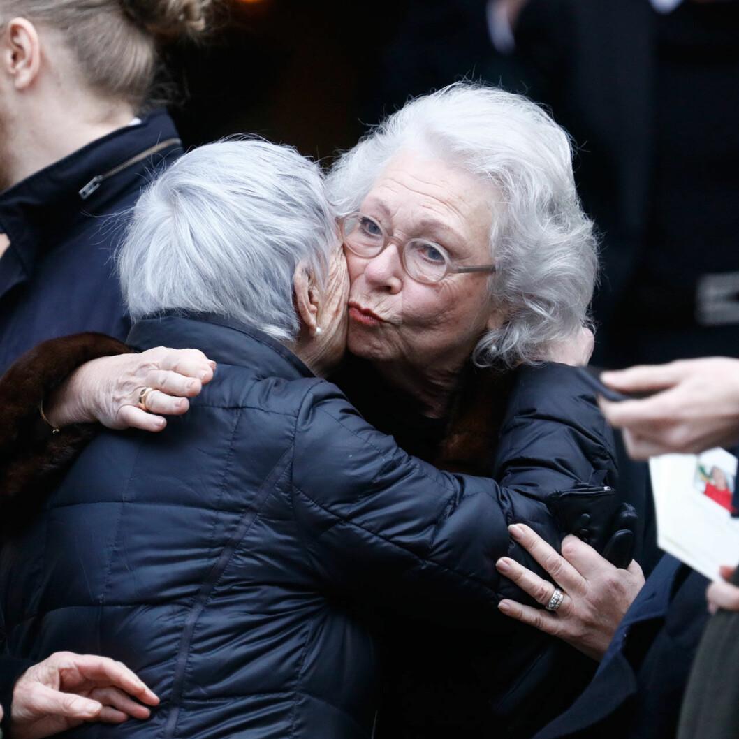 Prinsessan Christina kramar om Dagmars syster Catharina Nilert.