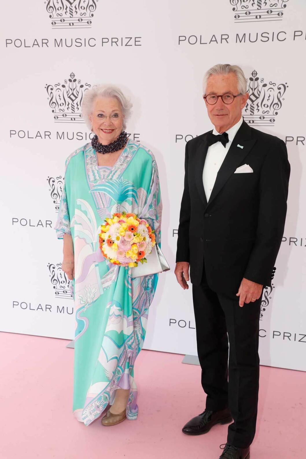 Prinsessan Christina och Tord Magnuson under Polarprisgalan 2019.