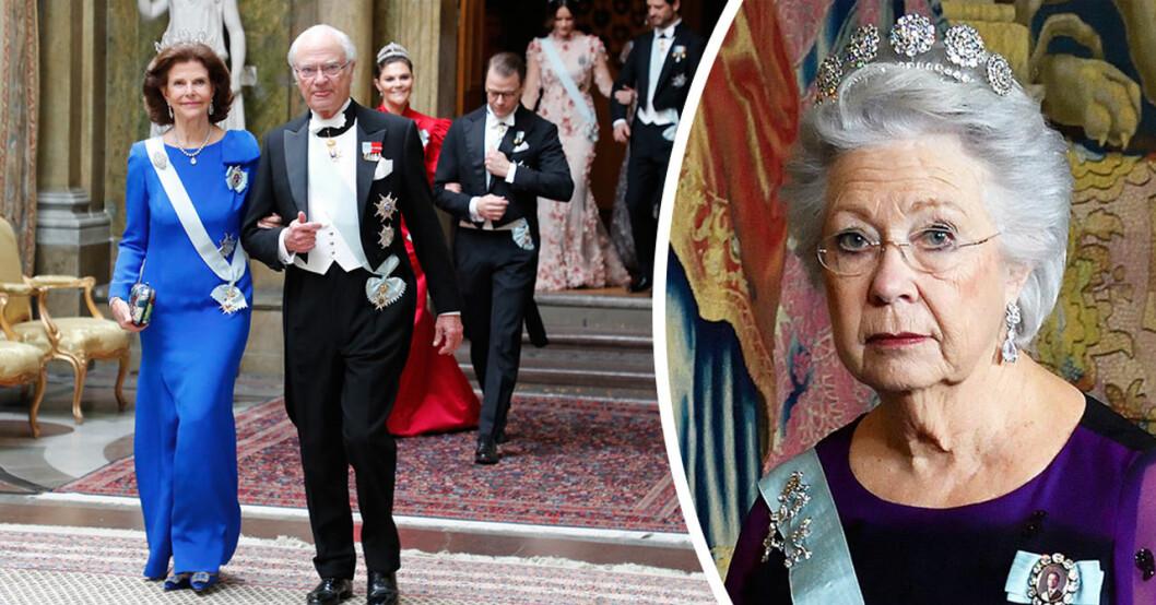 prinsessan christina missade kungens nobelmiddag 2019