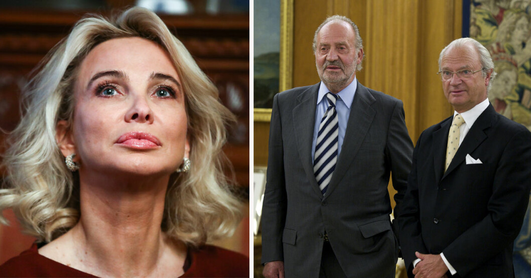 Corinna Zu Sayn Wittgenstein, exkungen Juan Carlos och kung Carl Gustaf