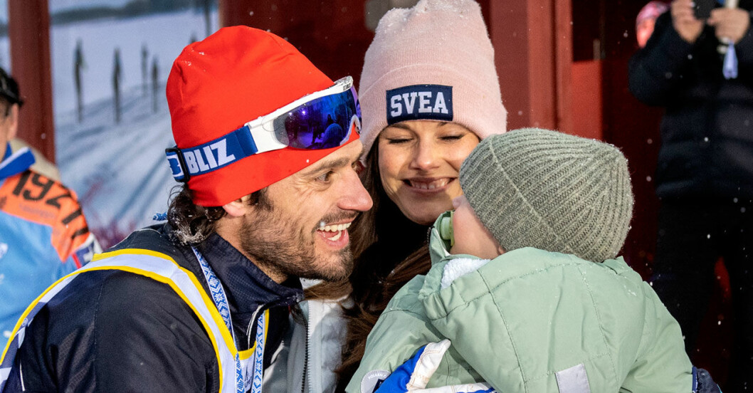 Prins Carl Philip åker Vasaloppet 2019