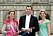 Prinsessan Elena, Iñaki Urdangarin och prinsessan Cristina vid Victoria och Daniels bröllop. I dag har till och med den spanske kungen tagit avstånd från Iñaki.