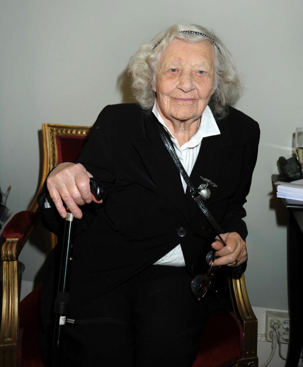 Dagmar von Arbin (1916-2019).