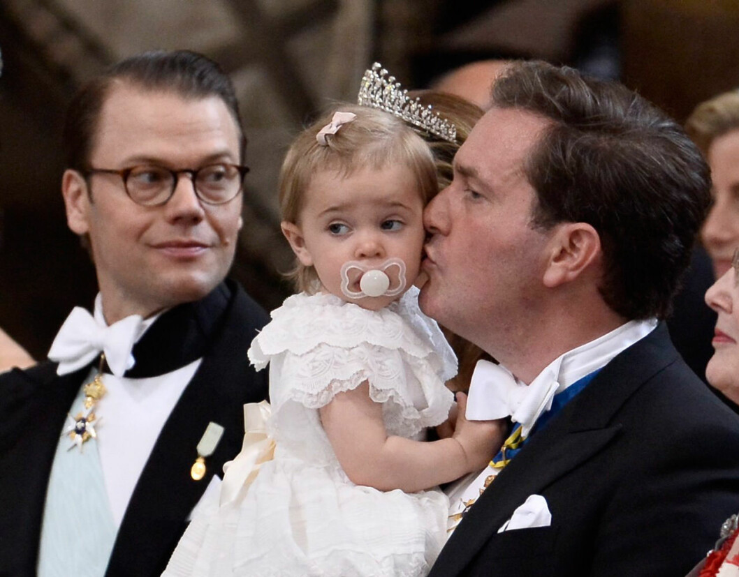 Prins Daniel, prinsessan Leonore och Chris O'Neill