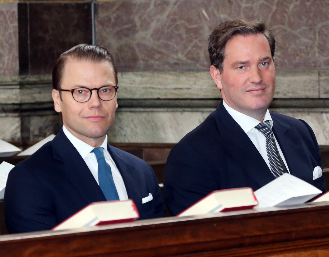 Prins Daniel och Chris O'Neill