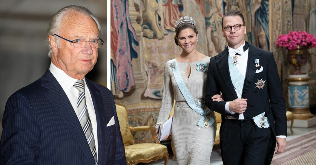 prins daniel kronprinsessan victoria kung carl gustaf
