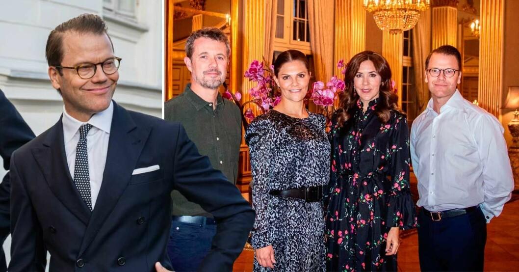 prins daniel klädkrock på amalienborg
