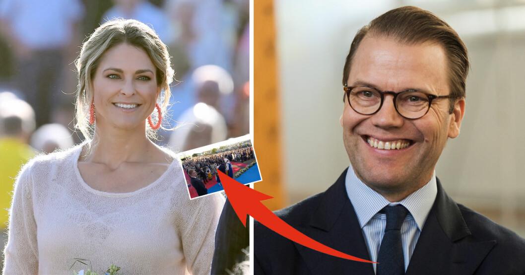 prins daniels fina gest till madeleine på nationaldagen