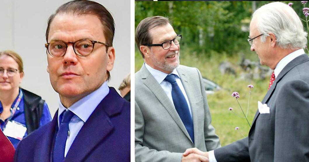 Prins Daniel och Olle Westling