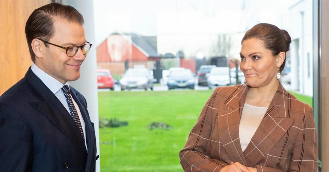 Prins Daniel och kronprinsessan Victoria