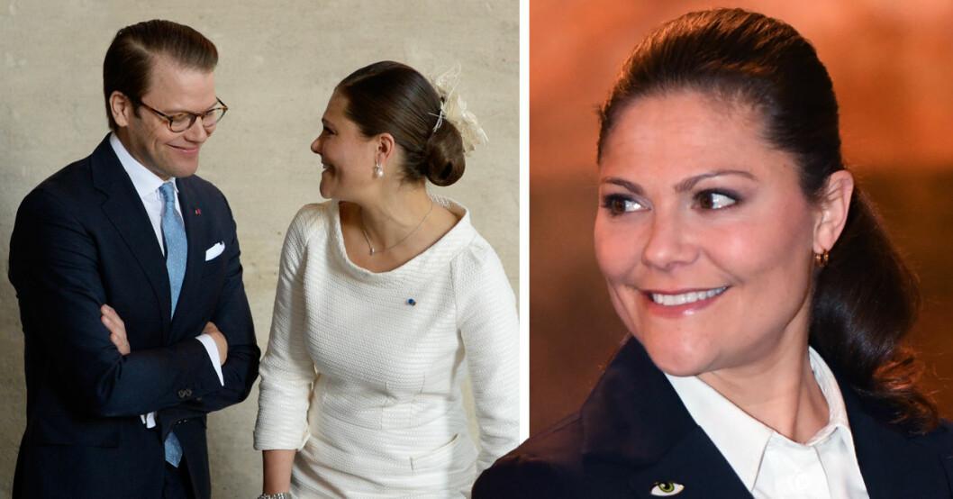 kronprinsessan victorias kommentar till prins daniel