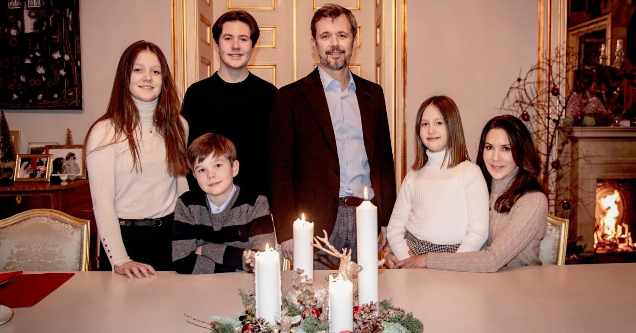 Danska kronprinsfamiljen