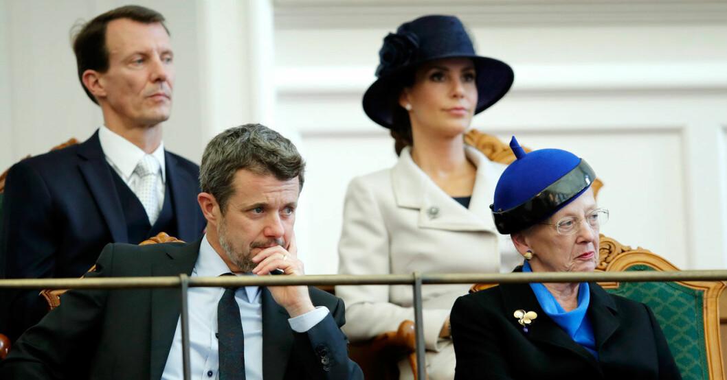 Vad säger drottning Margrethe om Joachims agerande?
