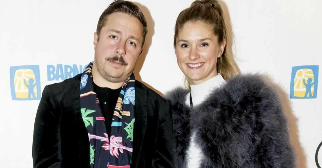 David Sundin och hustrun Maria.