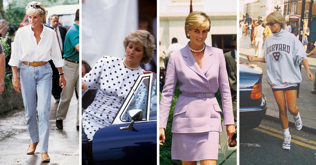 Prinsessan Dianas tidlösa stil