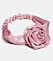 hårband med stor blomma