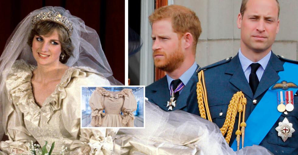 Prinsessan Diana Prins Harry Prins William
