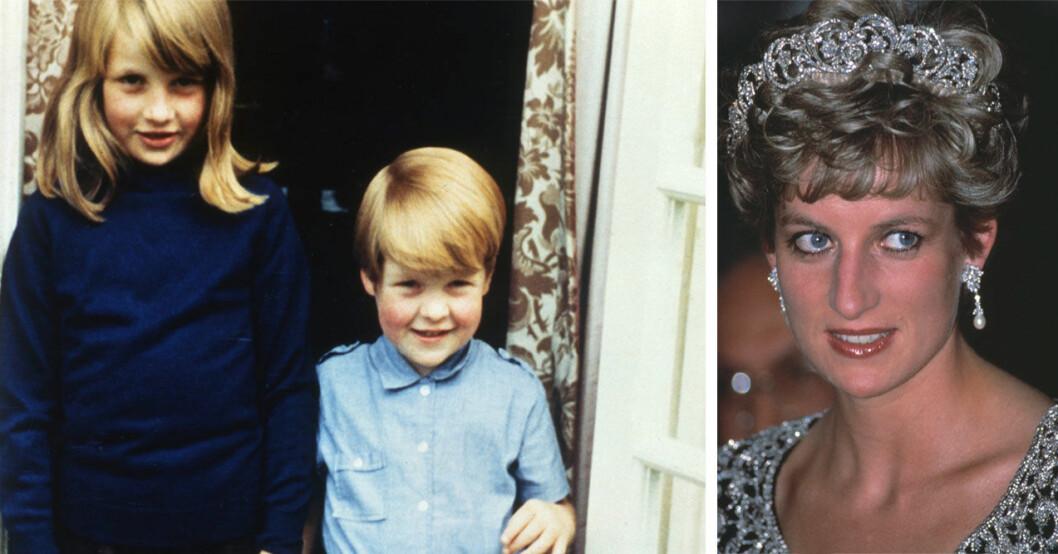 Prinsessan Diana och Charles Spencer