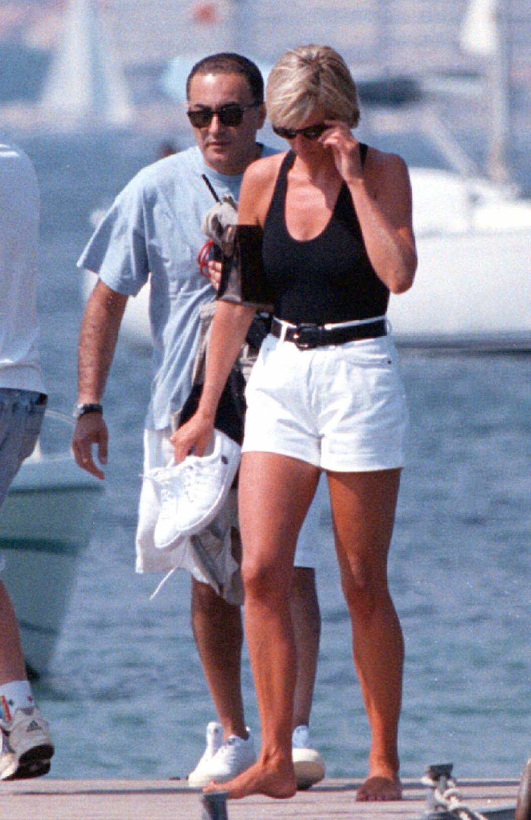 Dodi och Diana på Rivieran