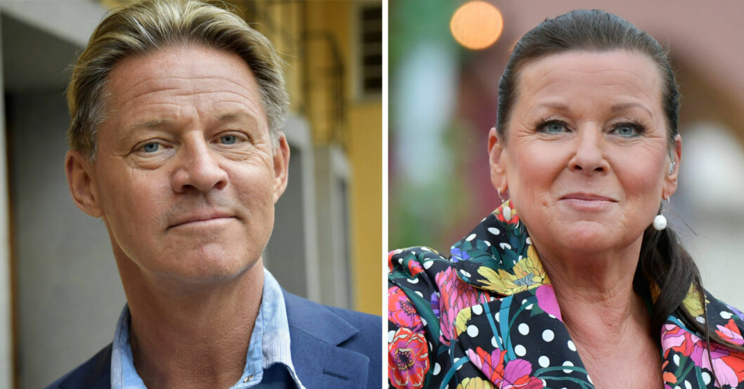 Mikael Soldoktorn Sandström och Lotta Engberg
