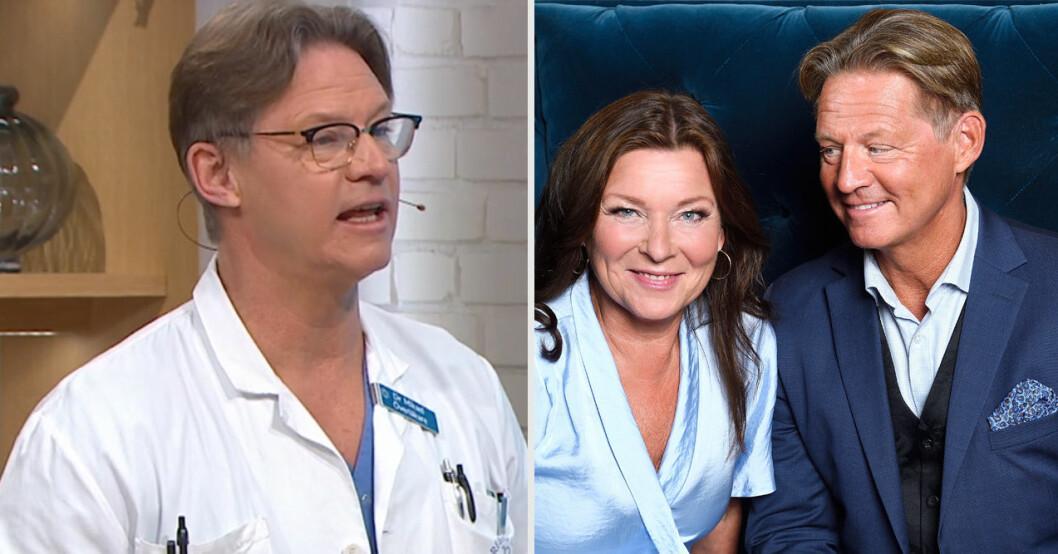 Doktor Mikael Sandströms avslöjande om relationen med Lotta Engberg