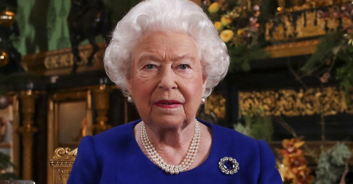 Drottning Elizabeth Brittiska kungafamiljen jul 2020