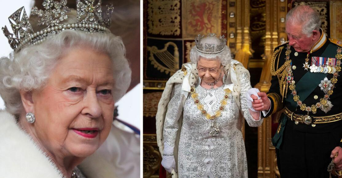 Drottning Elizabeth Prins Charles