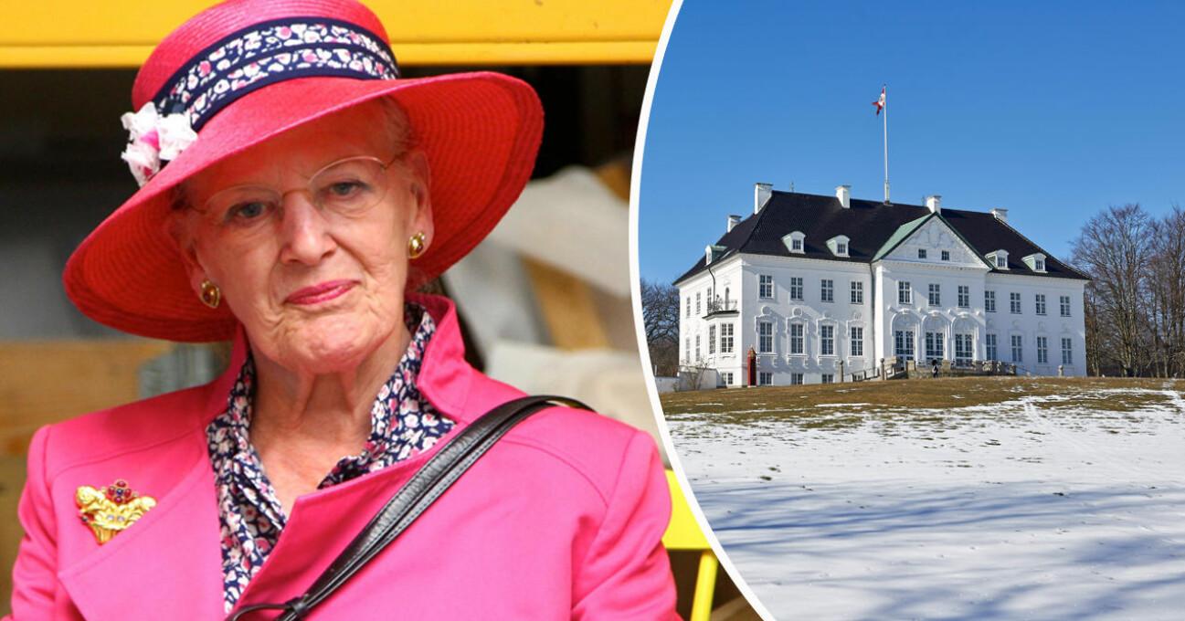 Drottning Margrethe, Marselisborg slott