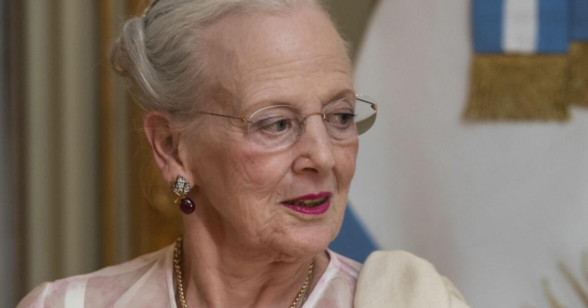 Drottning Margrethe jul 2020 julen
