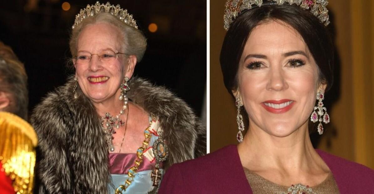 Drottning Margrethe Kronprinsessan Mary Nyårstaffeln 2020 inställd