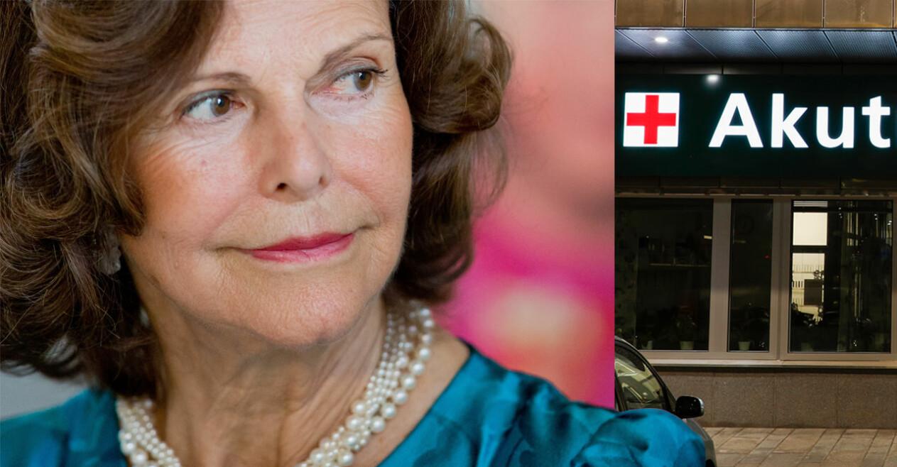 Drottning Silvia Akuten Danderyds sjukhus